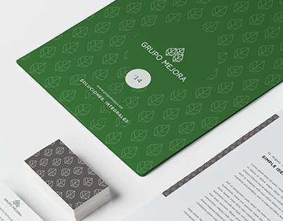 Grupo Mejora 一 branding + web