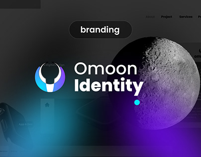 Omoon Brand Identity Design