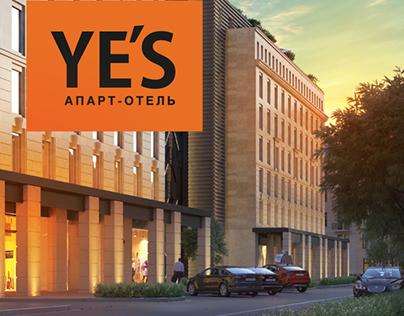 Продвижение апарт-отеля YE'S Социалистическая