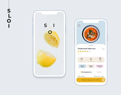 Recipes App UI kit