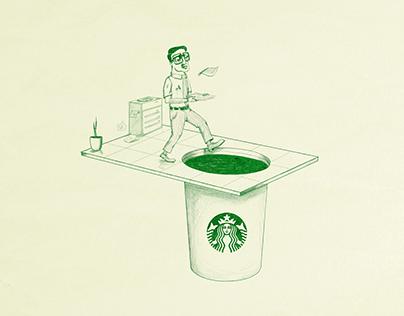 Starbucks :: WAKE UP