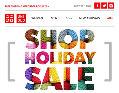 Email Campaign Mockup | UNIQLO