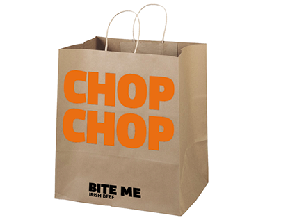 Bite Me Irish Beef - Branding and Exhibition