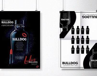 Bulldog London Dry Gin Advertisement