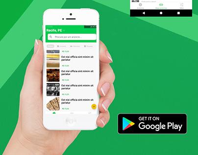 Classificados - Aplicativo Android