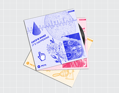 Pets Recordings Cover Design