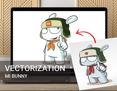 Mi bunny – vectorization for Xiaomi