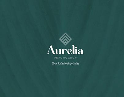 Aurelia Brand Identity, Digital & Print
