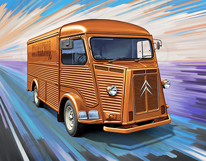 Citroen H van, bronze version