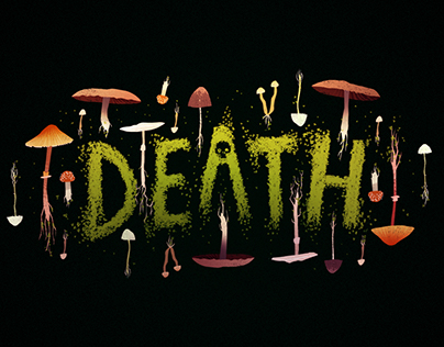 CreativeMornings November Theme Banner - 'DEATH'