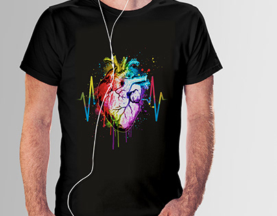 Awesome Watercolor Design Tshirt,Home decor etc