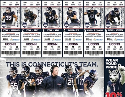 UConn Football Season Tickets