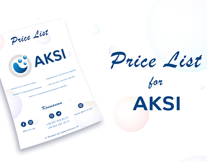 Price List for AKSI