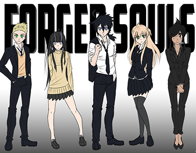 Forged Souls - Character Designs