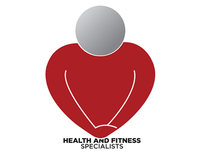 Health and Fitness Specialist logo concept.