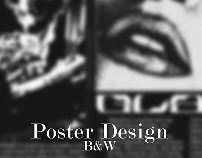 B&W Poster Design