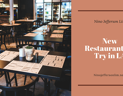 New Restaurants to Try in LA