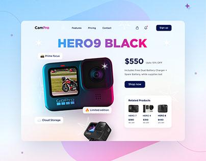 CamPro UI Design