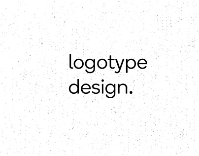 Logotype design projects