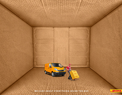 DHL | We care about everything inside the box