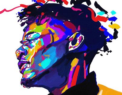 Yellow jacket / Digital painting / Ipad / Adobe Fresco