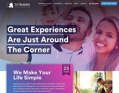 First Management Website