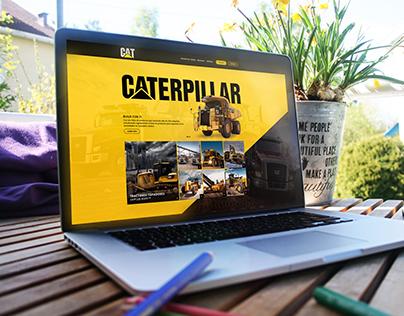 Página web Caterpillar