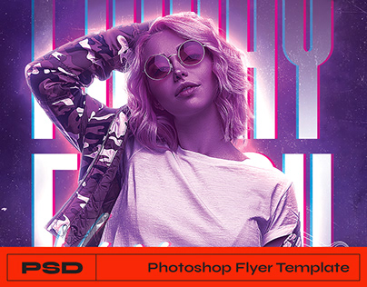 Club Flyer Photoshop Template
