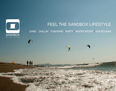 Sandbox Kite Surfing - redesigned website