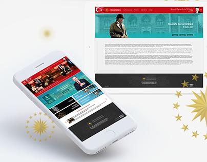 President of Republic of Turkey Website Redesign