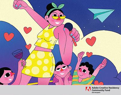 Adobe Community Fund: Illustrator for iPad