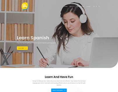 Spanish Class BA Website