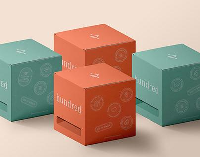 hundred supplements branding