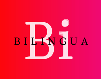 Bilingua | Two-system typeface