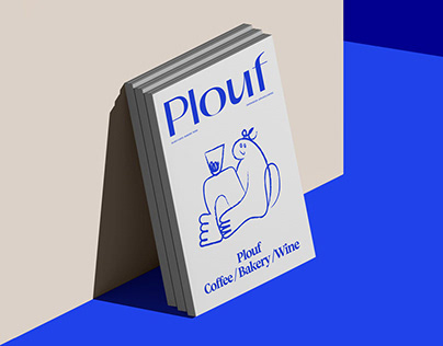 PLOUF | Visual Identity Design