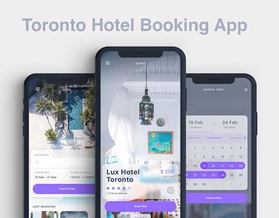 Toronto Hotel Booking App