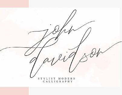 FREE | John Davidson Script
