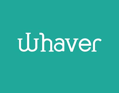 whaver - visualisation