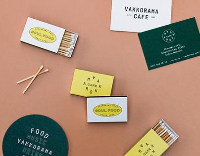 VAKKORAMA CAFE - BRANDING & PACKAGING