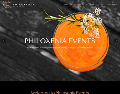 Philoxenia Events Website