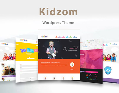 Kidzom nursery - Wordpress Theme