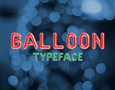 Balloon Typeface
