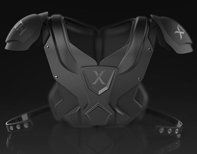 XENITH REACH Shoulder Pad Concept