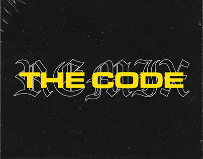 B Wise - The Code (Remix) Artwork Design & Direction