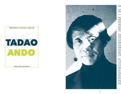 TADAO ANDO- ARQUITECTURE PORTFOLIO