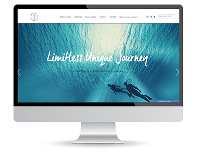 LIMITLESS Website portfolio Wix