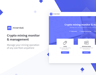 minerstat - crypto mining monitor & management