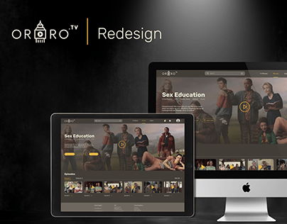 Ororo.tv Redesign