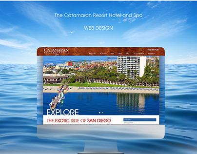 Catamaran Resort Web Site