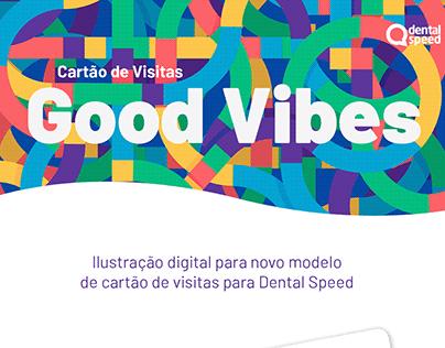 Cartão de visitas - Good Vibes